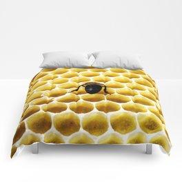 Geometric Bee Comforters