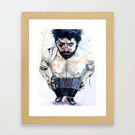 Quincy Boy Framed Art Print