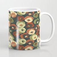 vintage floral Mugs featuring Vintage floral by kociara
