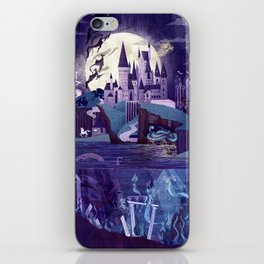 The Castle on the Hill iPhone Skin