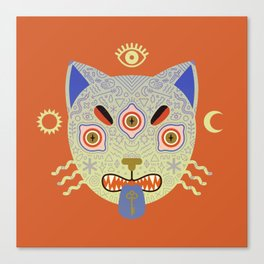 Mystic Cat Canvas Print