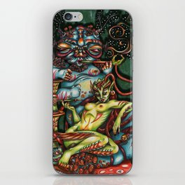 Mentalice and the Caterpillar iPhone Skin
