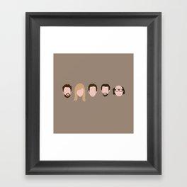 The Gang (It's Always Sunny) Framed Art Print