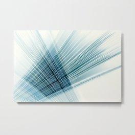 paper weave Metal Print