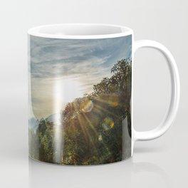 Dawn in the mountains Coffee Mug