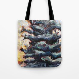Route to Happiness Tree Tote Bag