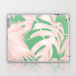 Island Love Seashell Pink + Green Laptop & iPad Skin