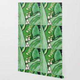 Lush lily Wallpaper