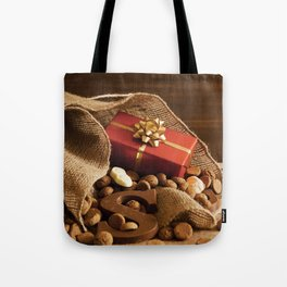 II - Bag with treats, for traditional Dutch holiday 'Sinterklaas' Tote Bag