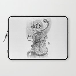 Astro Babe B&W Laptop Sleeve