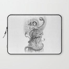 Astro Babe B&W Laptop Sleeve