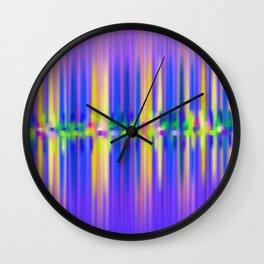 Seismic Shift Dusk Wall Clock
