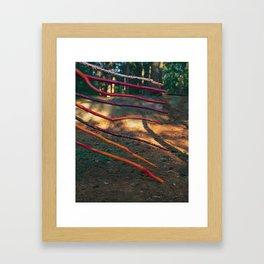 8 of Wands Framed Art Print