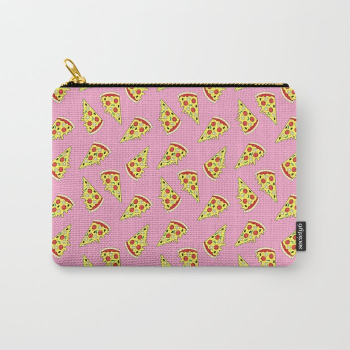 Pizza Pattern By Everett Co Carry-All Pouch