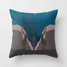 Skyfall Movie Poster Throw Pillow