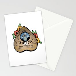 The Truth Is Out There Ouija Planchette  Stationery Cards
