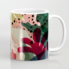 Relaxed in Jungle - The Book Lover Coffee Mug