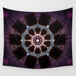 Purple Velvet Wall Tapestry