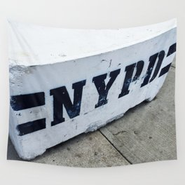 NYPD Wall Tapestry