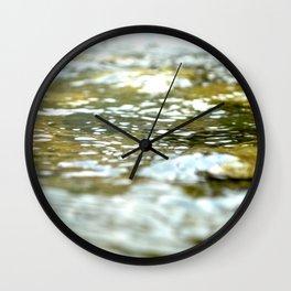 The Yuba River Wall Clock
