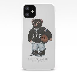 ftp bear iPhone Case