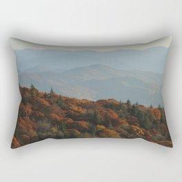 The Blue Ridge Mountains NC, Fine Art Photography Rectangular Pillow