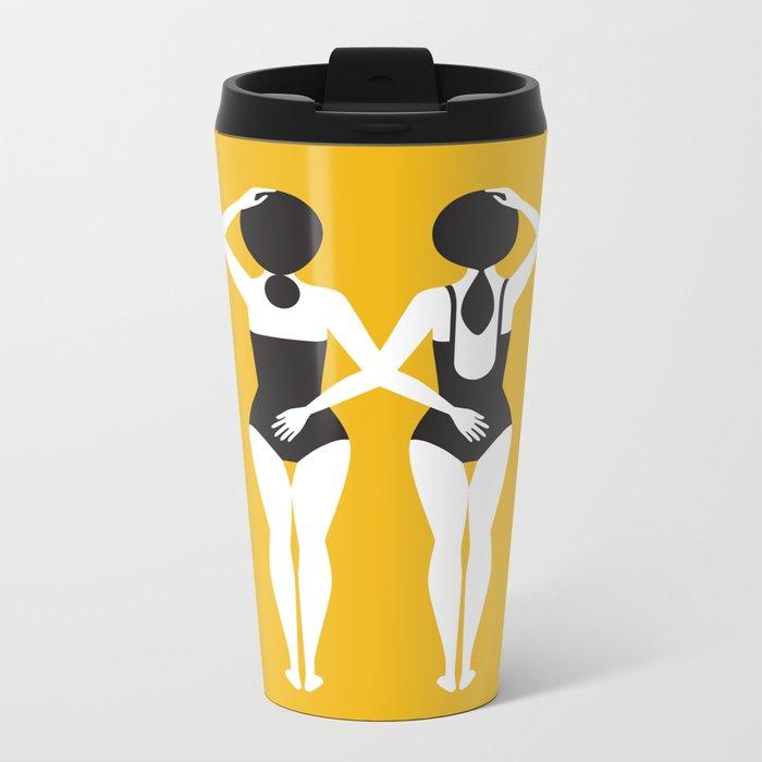 The Swimmers Metal Travel Mug