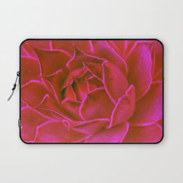 Suculenta Roja Laptop Sleeve