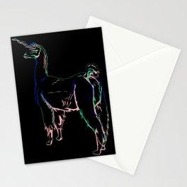 Llama Unicorn Stationery Cards