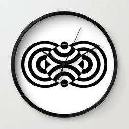 Beggar's Knoll Black Wall Clock