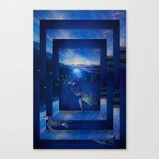 Swim the Seas Canvas Print