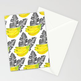 Banana Bunch – Yellow & Black Palette Stationery Cards