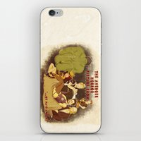 rocky horror picture show iPhone & iPod Skins featuring The Avenger Horror Picture Show by Leigh Lahav