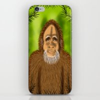 yeti iPhone & iPod Skins featuring Yeti by Designs By Misty Blue (Misty Lemons)