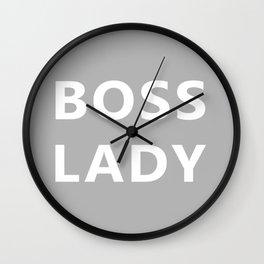 Boss Lady Wall Clock