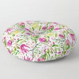 Protea Flower Bloom Floor Pillow