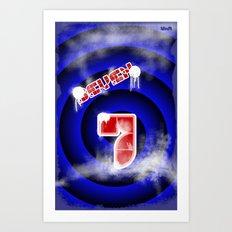 se7en Art Print