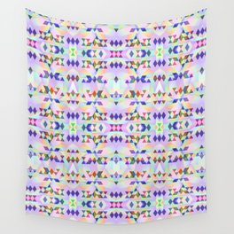 Lilac tribomb Wall Tapestry