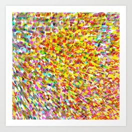 color space Art Print