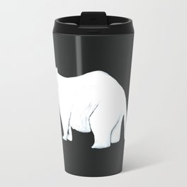The Ghost of One Marmot Alive Travel Mug