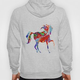 Horse Colorful Silhouette Hoody