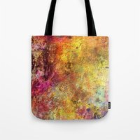 iron maiden Tote Bags featuring Iron by jbjart