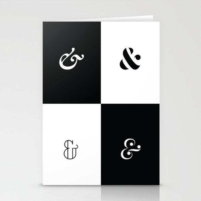 For the Love of Ampersand #1 Stationery Cards