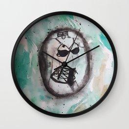 Watercolour 3 Wall Clock
