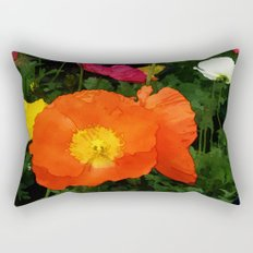 Poppies One Rectangular Pillow