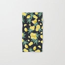 Lemon Twist Vibes #5 #tropical #fruit #decor #art #society6 Hand & Bath Towel
