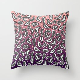 Skunk Pattern Throw Pillow