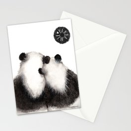 Pandamie Panda Couple Stationery Cards