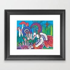 Observer Framed Art Print