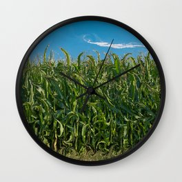 Corn Field Wall Clock